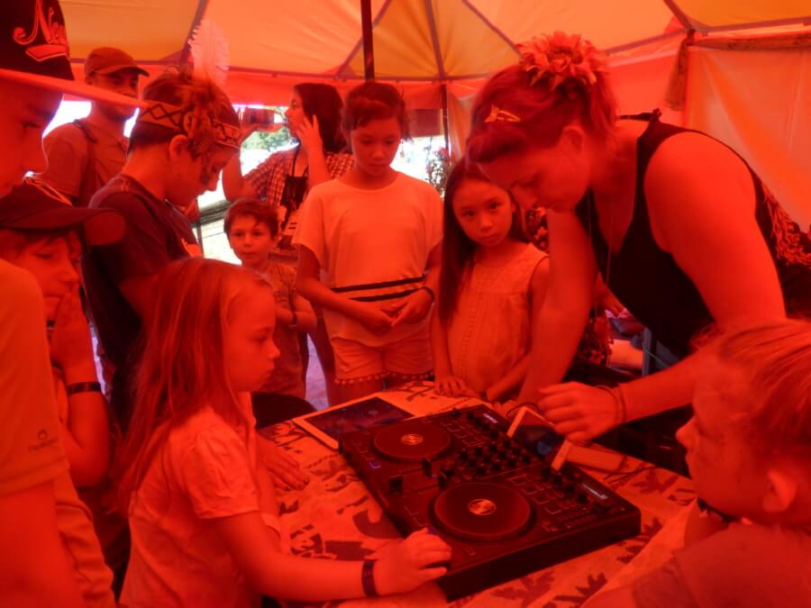 DJ workshop at Chilled in a Field