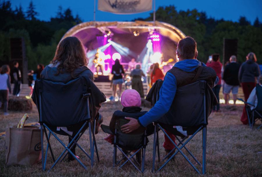 Woodlands festival EVENING STAGE