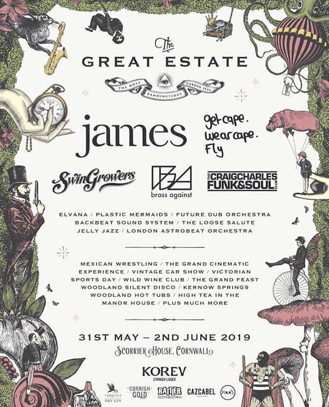 Great Estate Line Up 2019
