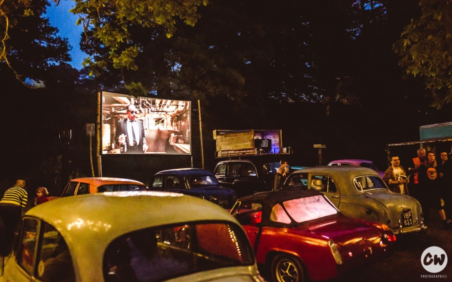 Drive in Cinema at Eden Festival