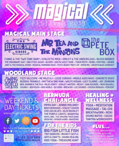 Magical Line Up 2019