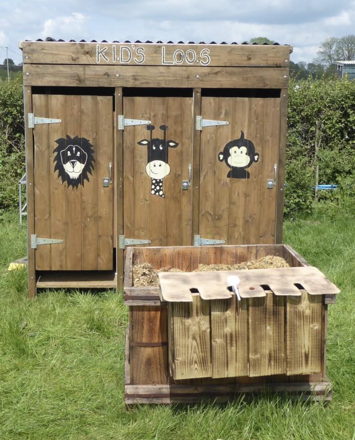 Children's Toilets at Shindig
