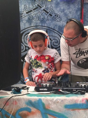 DJ workshops at Beautiful Days
