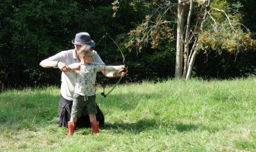 Archery boy