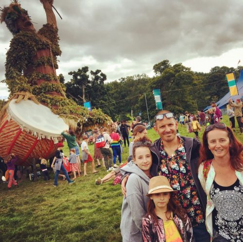 green man festival review family