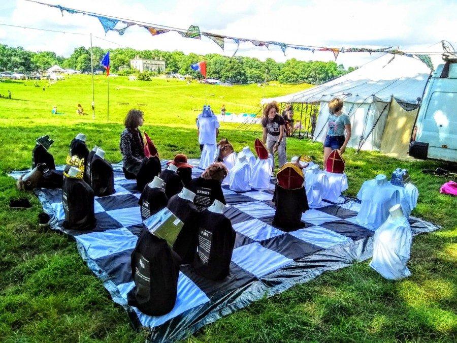 Green gathering festival chess